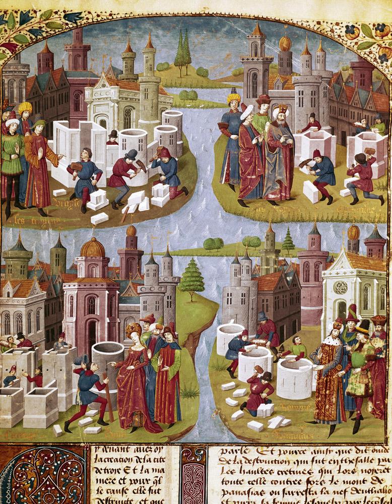 Les Arts Visuels De La Prehistoire Au Moyen Age Maxicours