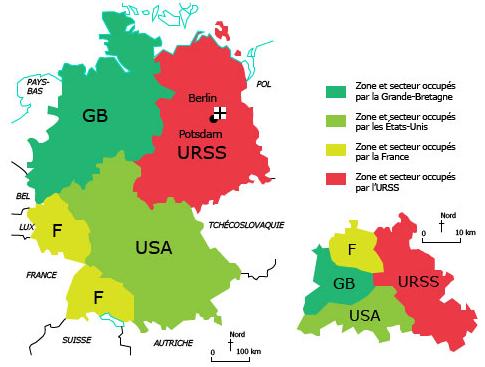 étude De Cas Lallemagne Et Berlin Cours Dhistoire 3eme