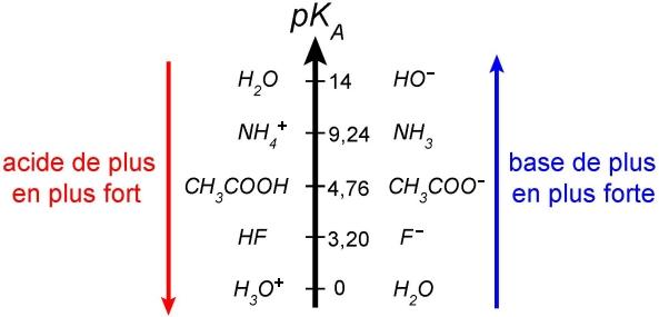Constante D Acidite Et Pka Diagramme De Predominance Maxicours